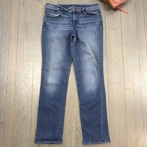 LOFT Medium Wash Cropped Leg Ankle Denim Jeans